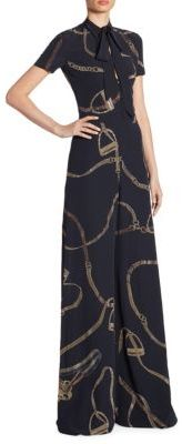 Ralph Lauren Collection Isabelle Silk Jumpsuit $3,990 thestylecure.com