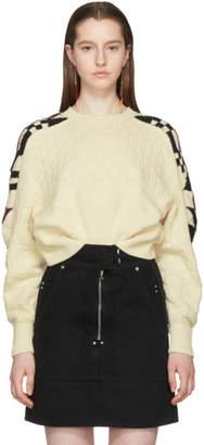 Isabel Marant Ecru Laytonn Origami Sweater