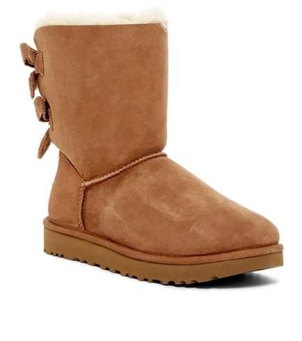 UGG Australia Bailey Bow Corduroy Genuine Sheepskin Boot