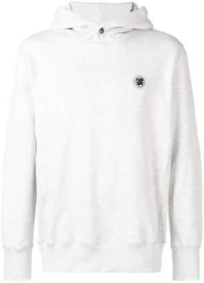 Leon Aimé Dore buttoned hoodie