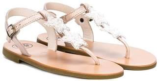 Pépé star detail T-strap sandals