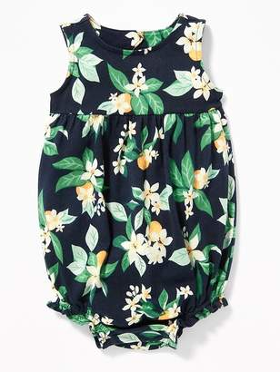 Old Navy Printed Jersey Bubble One-Piece for Baby