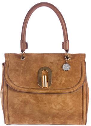 LanvinLanvin Suede Shoulder Bag