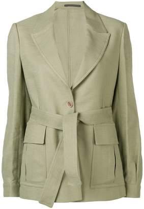 Eleventy belted blazer