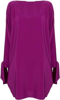 Gianluca Capannolo slit sleeve dress
