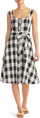 Rachel Roy Collection Gingham Cotton Sundress