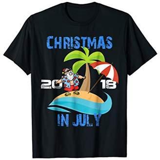 Christmas In July Shirt 2018 Matching Christmas Pajama Shirt