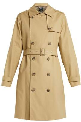 A.P.C. Josephine Cotton Trench Coat - Womens - Beige