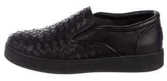 Bottega Veneta Intrecciato Doger Slip-On Sneakers
