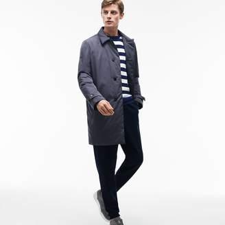 Lacoste Men's Invisible Fastening Taffeta Raincoat