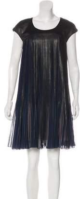 Alexis Mabille Pleated Mini Dress