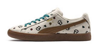 PUMA x TYAKASHA Clyde Graphic Sneakers