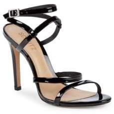 Schutz Patent Leather Stiletto Sandals