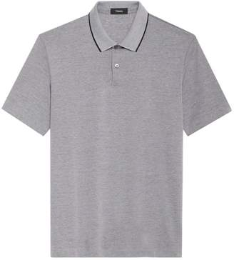 Theory Current Contrast Trim Polo