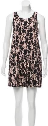 Thakoon Silk-Blend Min Dress