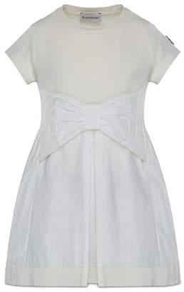Moncler Girls' Bow Dress - Big Kid