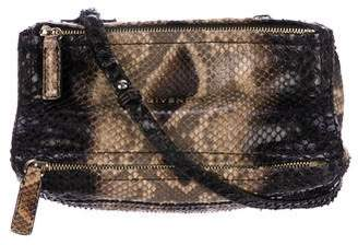 Givenchy Snakeskin Mini Pandora Bag