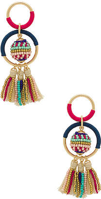 Rebecca Minkoff Blair Beaded Ball Earrings
