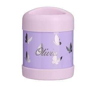 1b5ede2fbb Pottery Barn Kids Mackenzie Lavender Foil Iridescent Butterflies Backpacks