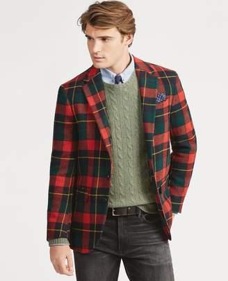 Ralph Lauren Morgan Tartan Wool Sport Coat