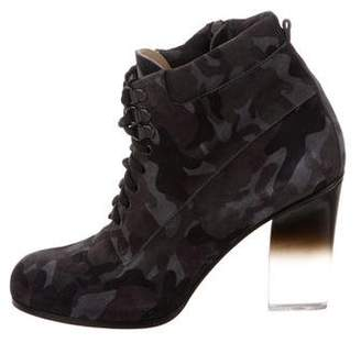 Ritch Erani NYFC Suede Lace-Up Ankle Boots