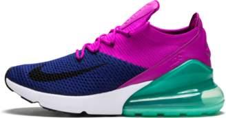 Nike 270 Flyknit Deep Royal Blue/Black