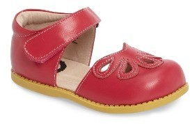 Infant Girl's Livie & Luca 'Petal' Mary Jane $58.95 thestylecure.com