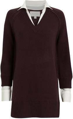 Brochu Walker Looker Wool-Cashmere Sweater Dress