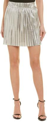 Isabel Marant Etoile Delpha High-Rise Metallic Short Skirt