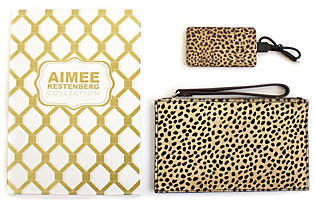 Aimee Kestenberg Pebble LeatherPouch w/Charger