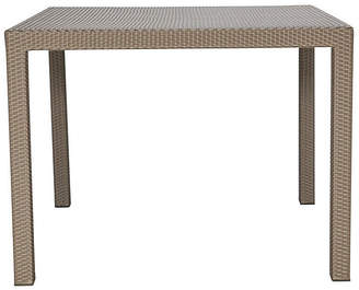Janus et Cie Woven Square Dining Table - Light Brown