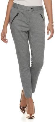 Candies Juniors' Candie's Zipper Ankle Pants