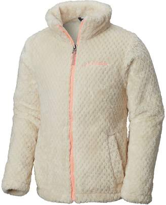 Columbia Fluffy Fleece Full-Zip Jacket - Girls'