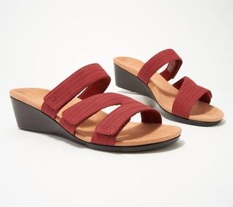 Vionic Multi-Strap Wedge Sandals - Deanna