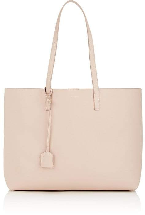Saint Laurent Women's Leather Shopping Tote Bag