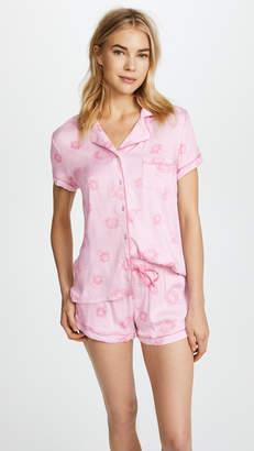 Splendid x Vogue Short Sleeve PJ Set