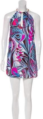 Emilio Pucci Printed Sleeveless Dress