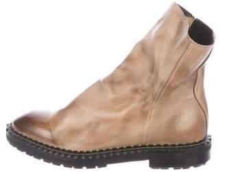 Miharayasuhiro Leather Ankle Boots