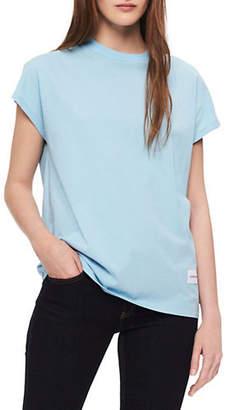 Calvin Klein Jeans Slub Crew Neck Cotton Tee