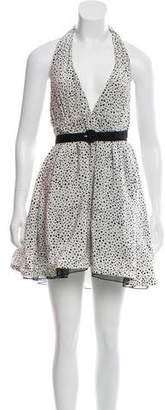 Alice + Olivia Silk Polka Dot Dress w/ Tags
