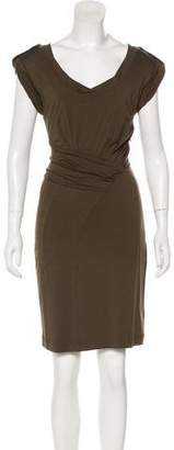 Tom Ford Sleeveless Pleated Dress