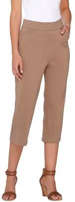 Liz Claiborne New York Ponte Knit Capri Pants