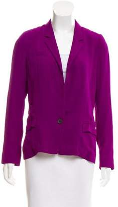 Isabel Marant Long Sleeve Notch-Lapel Blazer