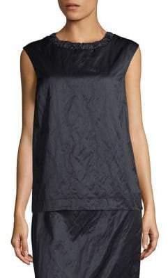 Max Mara Tempera Crinkle Shirt