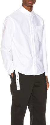 Craig Green Oxford Shirt in White | FWRD