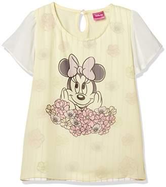 Disney (ディズニー) - [ディズニー] ミニーシフォン重ねTシャツミニーシフォン重ねTシャツ 332227580 ガールズ クリーム 日本 140 (日本サイズ140 相当)