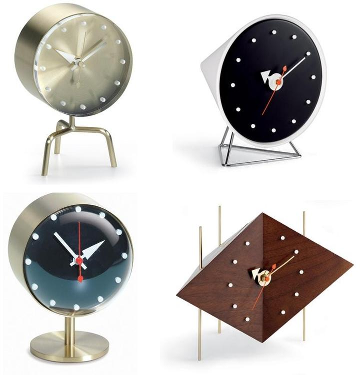 Vitra - desk clocks by george nelson