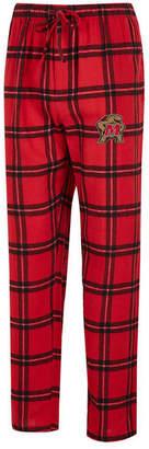 Concepts Sport Men Maryland Terrapins Homestretch Flannel Pajama Pants