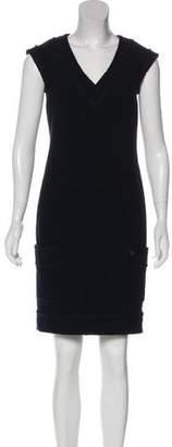 Chanel Wool Shift Dress