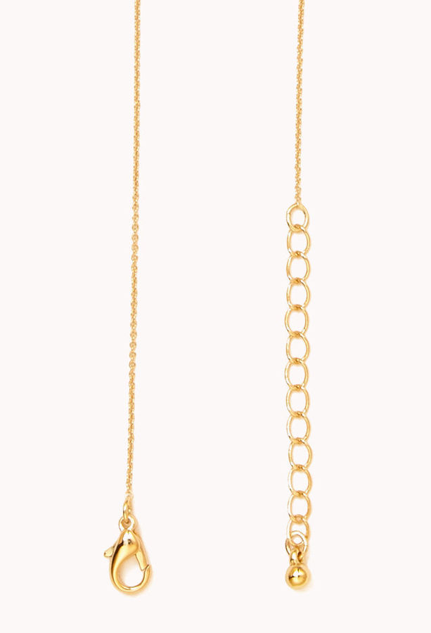 Forever 21 Classic Cross Necklace